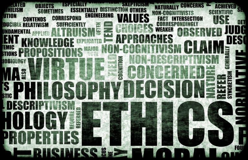Ethics royalty free illustration
