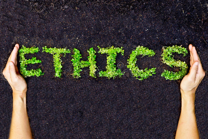 Ethics / csr. / corporate social responsibility royalty free stock images