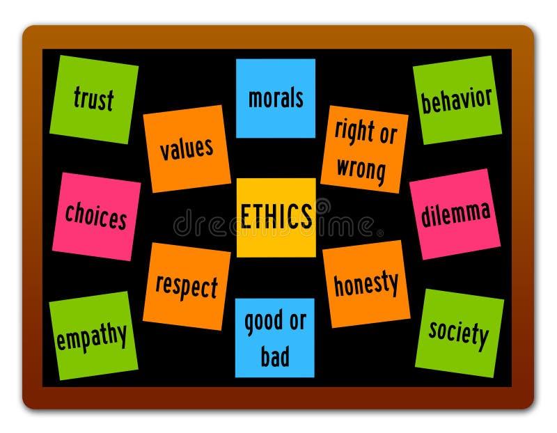ethiek stock illustratie