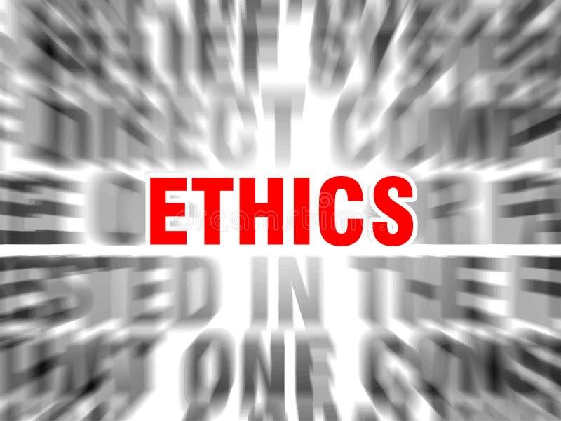 ethiek royalty-vrije illustratie
