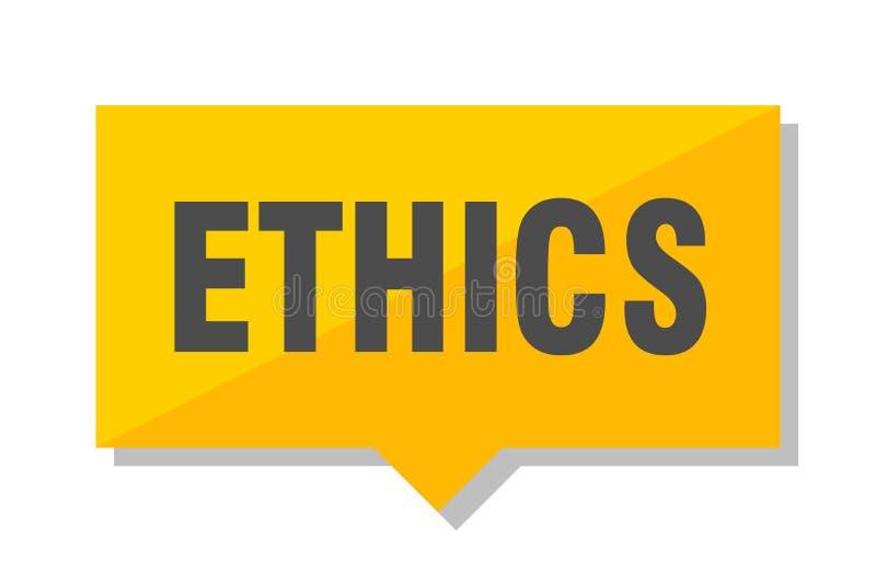 Ethik-Preis lizenzfreie abbildung
