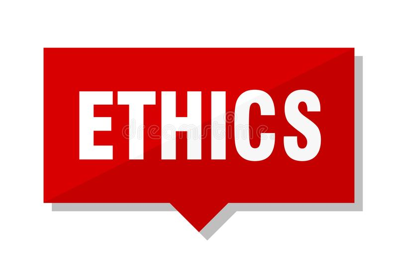 Ethik-Preis vektor abbildung
