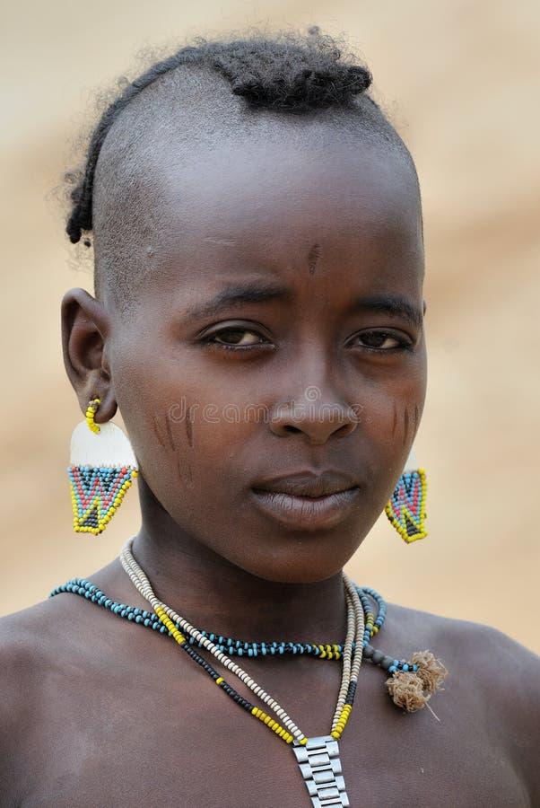 ethiopia folk royaltyfri foto