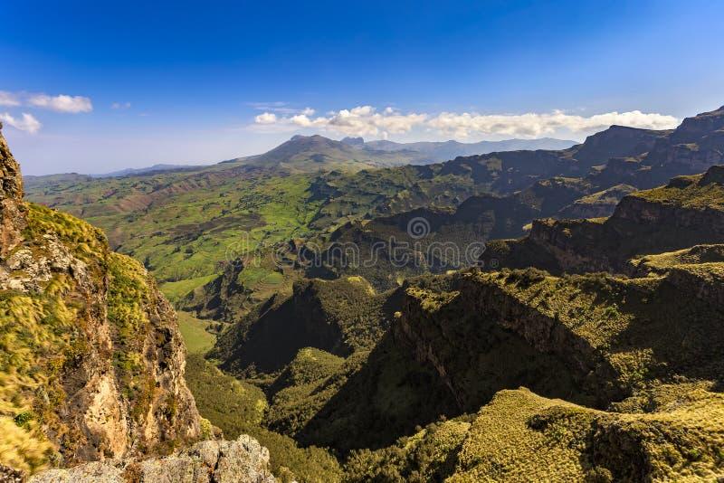 ethiopia góry simien zdjęcie stock