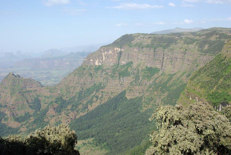 ethiopia liggande royaltyfri bild