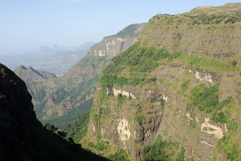 ethiopia liggande royaltyfria bilder