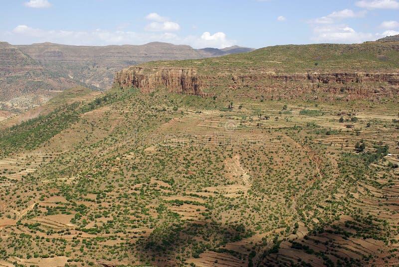 ethiopia liggande royaltyfri fotografi