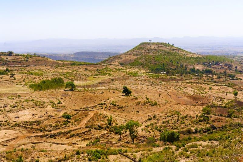 ethiopia liggande arkivbild