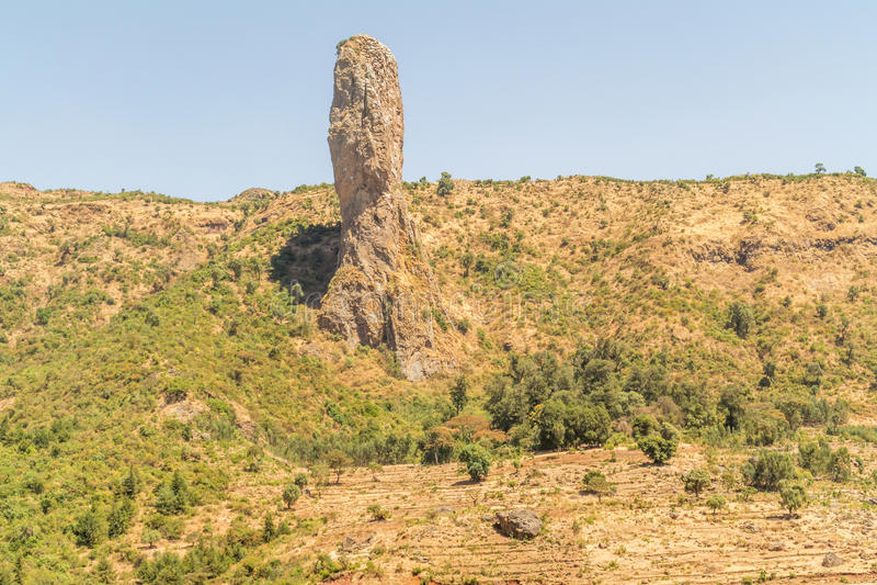 ethiopia liggande arkivbilder