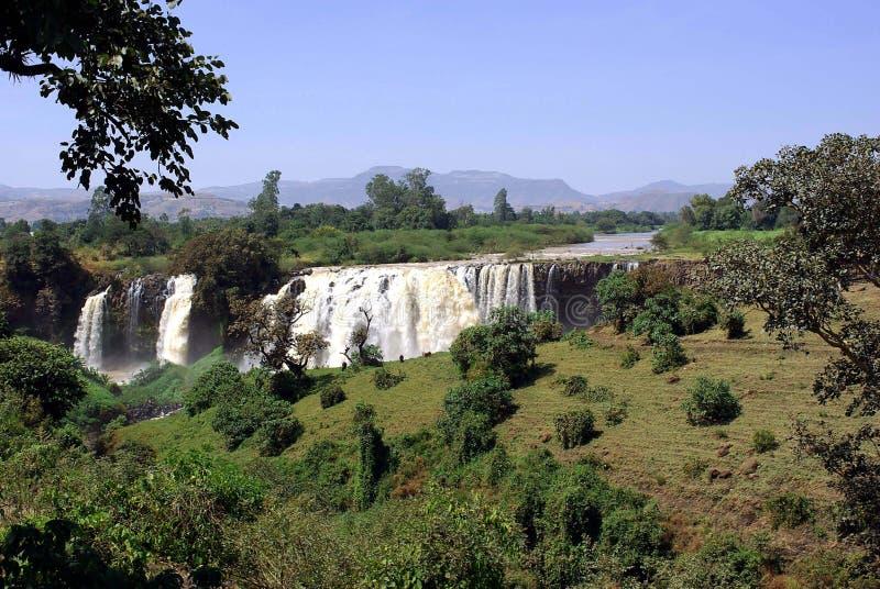 ethiopia vattenfall arkivbilder