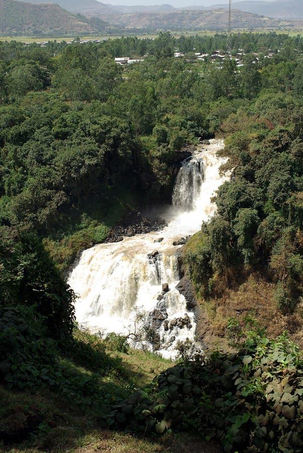 ethiopia vattenfall fotografering för bildbyråer