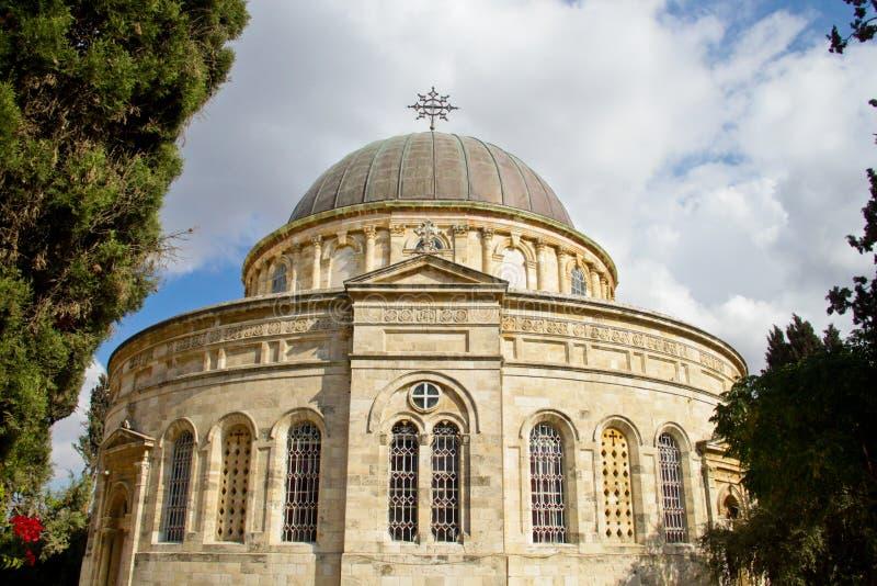 Ethiopian chapel in Jerusalem royalty free stock image