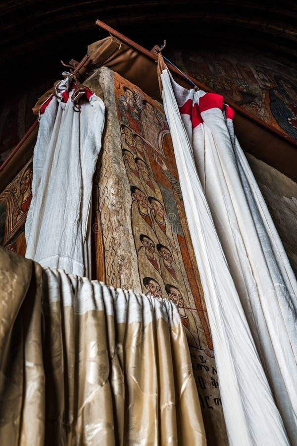 Ethiopian church found near Gorgora, Ethiopia, Africa stock images