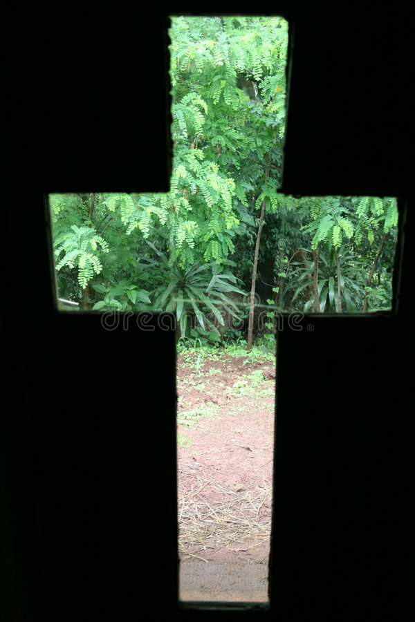 Download Ethiopian cross of nature stock photo. Image of forest - 7053972