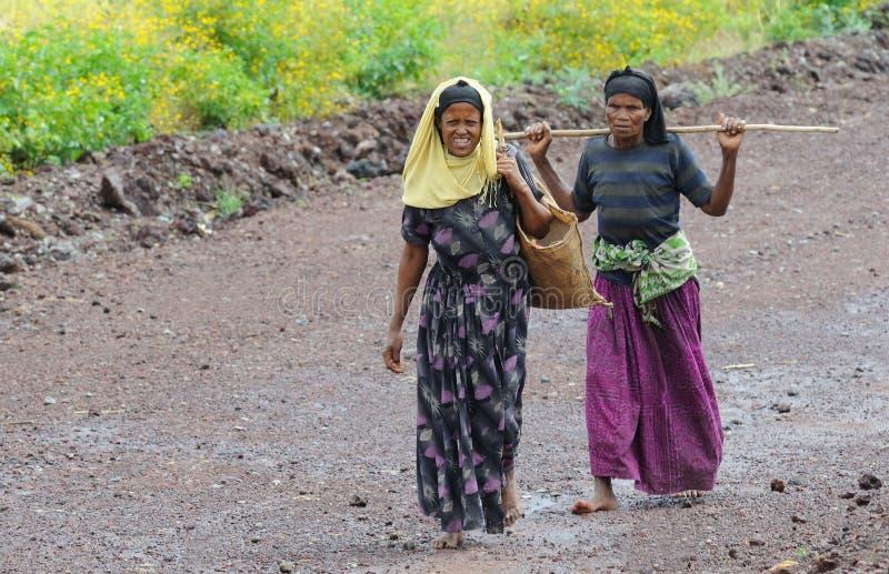 ethiopian folk arkivfoto