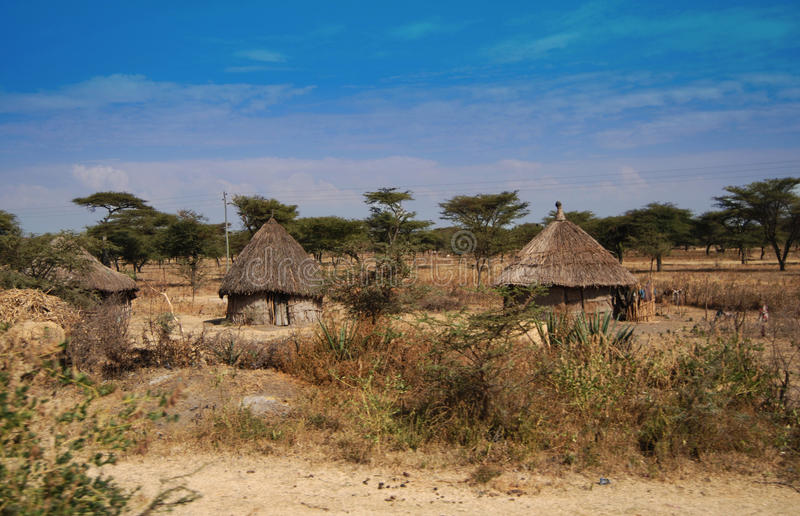 Download Ethiopian huts stock image. Image of nature, sunny, houses - 18918037