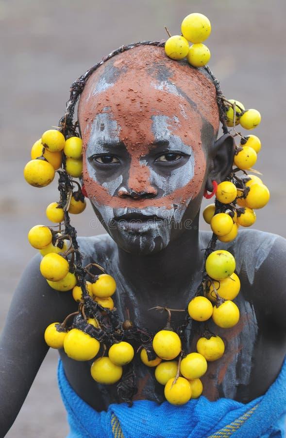 Ethiopian people stock images