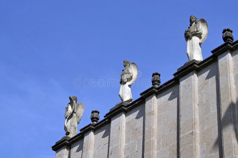 Download Ethiopian Statues (room For Text) Stock Image - Image of tower, disciple: 385307