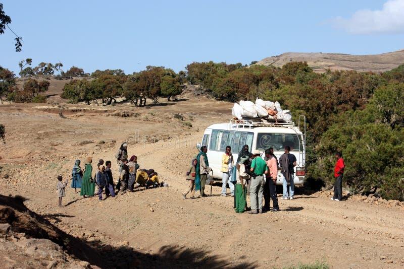 ethiopian transport arkivbilder