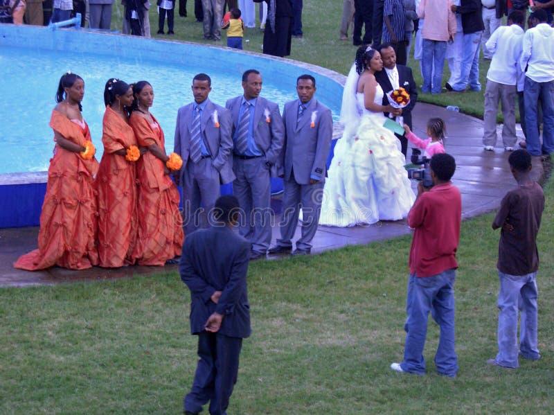Ethiopian wedding, Africa royalty free stock image