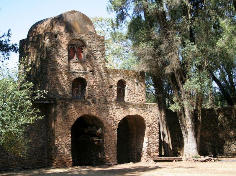 Ethiopische Kerk royalty-vrije stock afbeelding