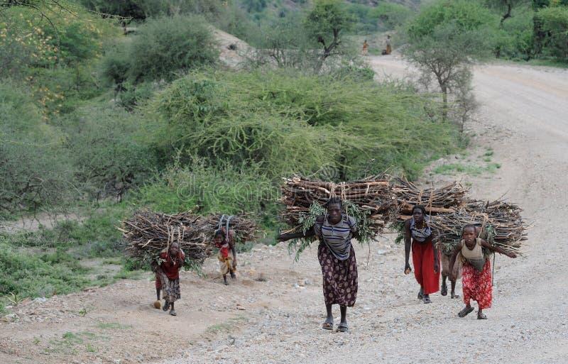 Ethiopische mensen stock fotografie