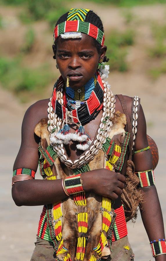 Ethiopische Vrouw Benna royalty-vrije stock fotografie