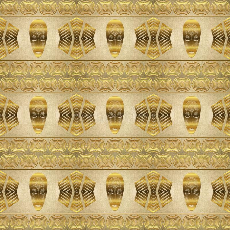 Ethnic african tribal pattern royalty free stock photos