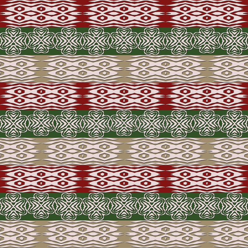 Ethnic african tribal stripes pattern. royalty free stock photos