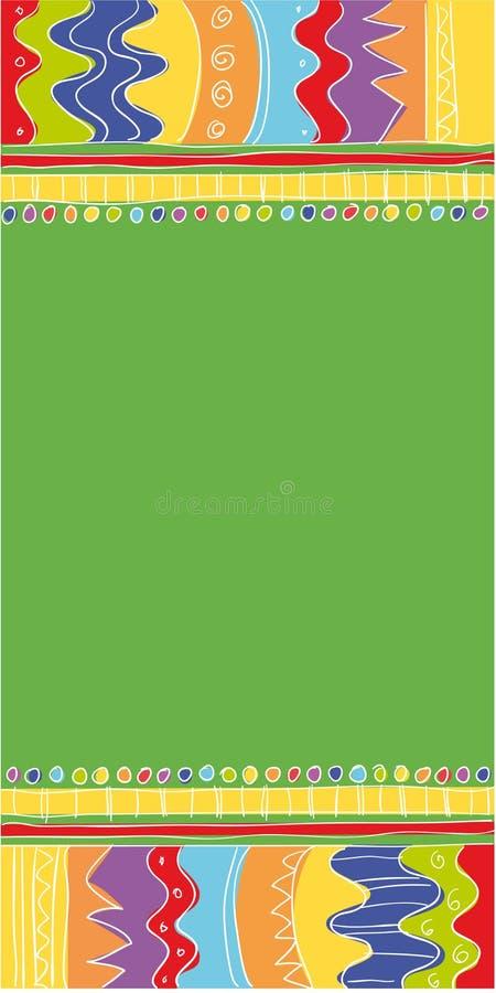 Download Ethnic banner stock illustration. Illustration of green - 6810309