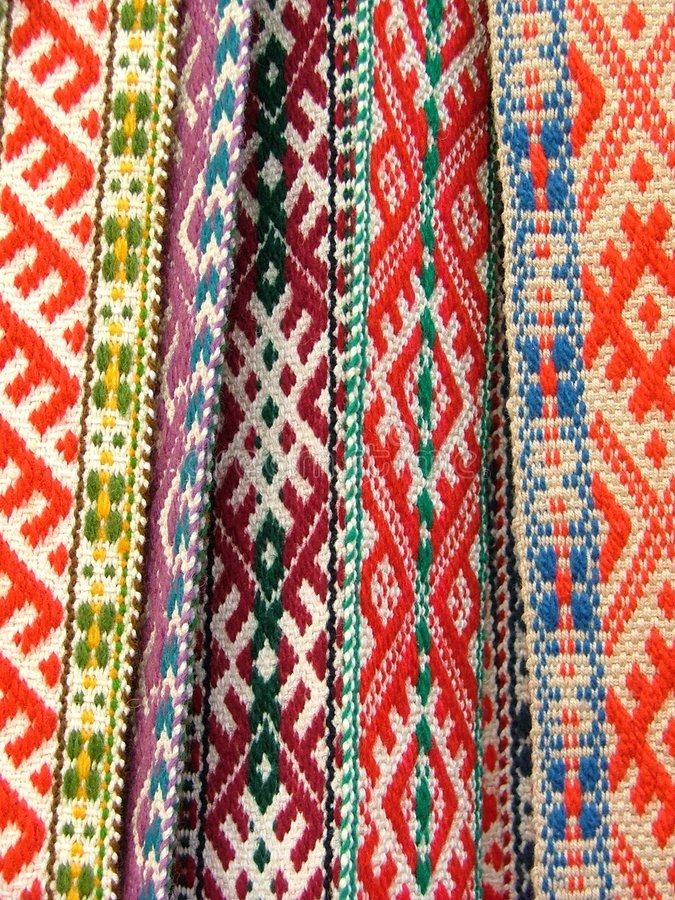 Download Ethnic belt stock image. Image of band, fabric, colour - 165751