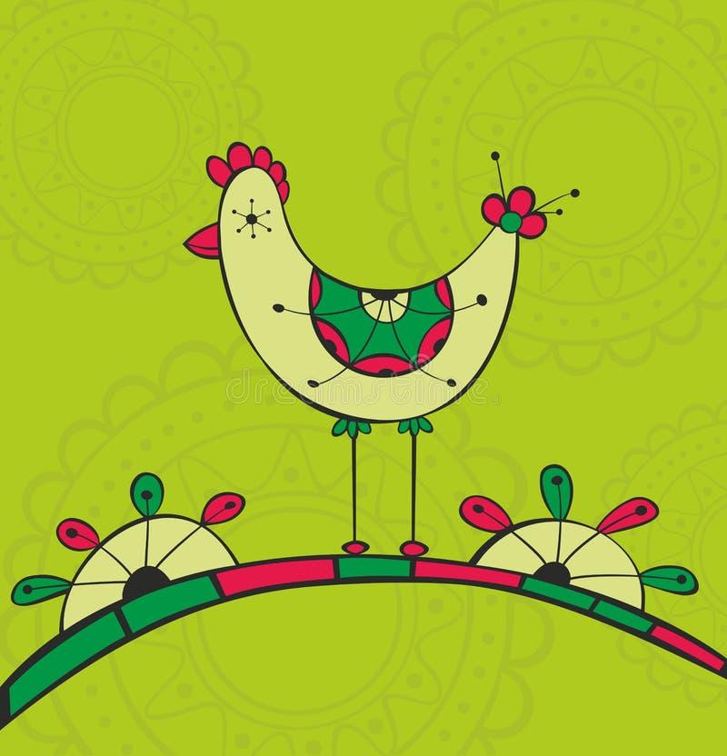 Download Ethnic bird stock vector. Image of ornament, vector, decoration - 28839797