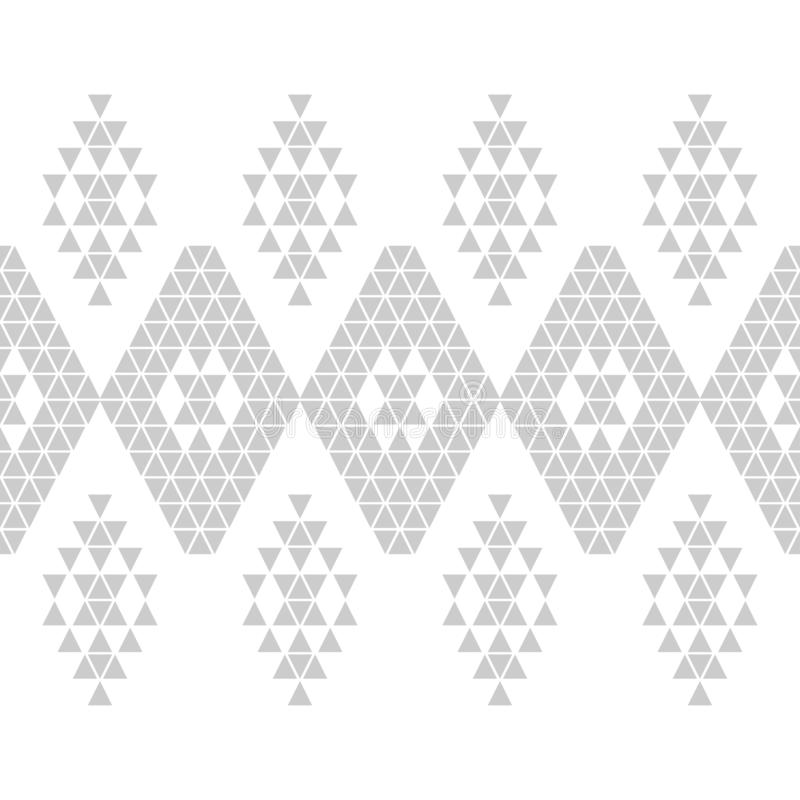 Ethnic boho seamless pattern. Embroidery on fabric. Patchwork texture. Weaving. Traditional ornament. Tribal pattern. Folk motif. stock photography
