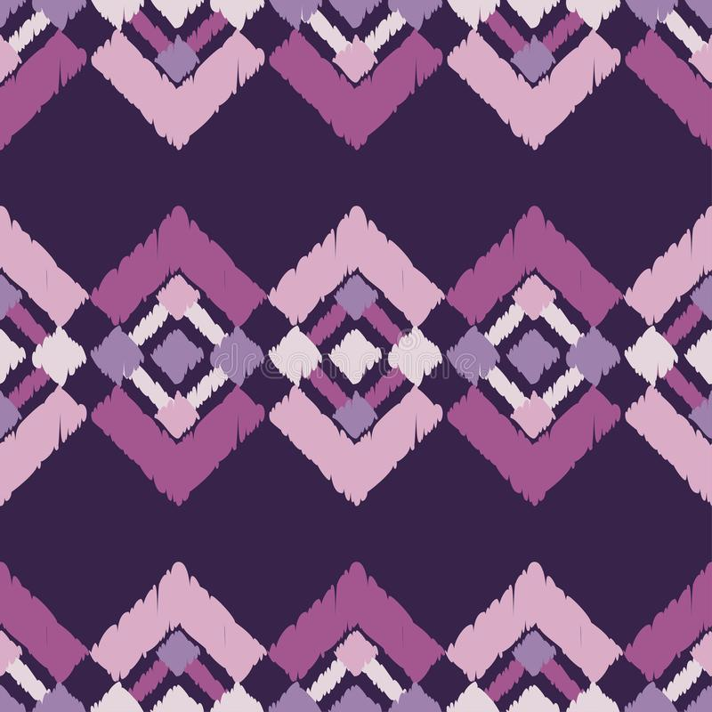 Ethnic boho seamless pattern. Traditional ornament. Tribal pattern. Folk motif. Can be used for wallpaper, textile, invitation card, wrapping, web page stock illustration
