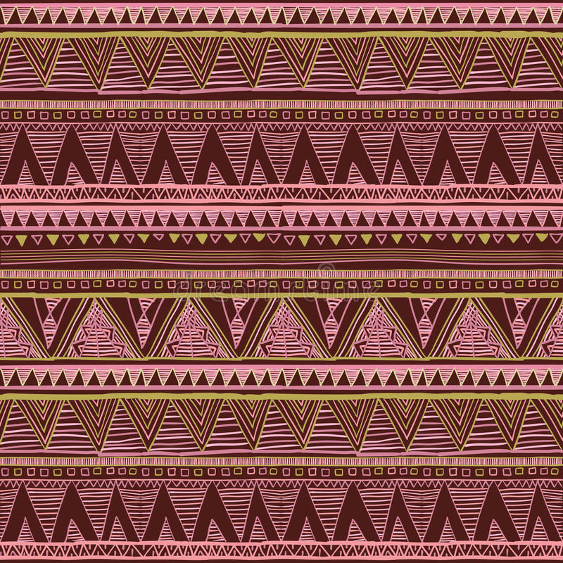 Download Ethnic Boho Seamless Pattern Tribal Art Print Background Texture Wrapping Wallpaper
