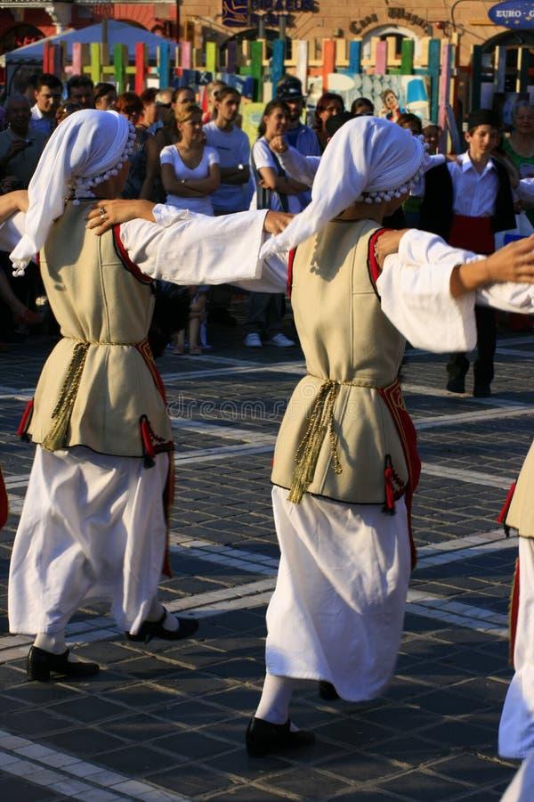 Ethnic dance festival royalty free stock photo