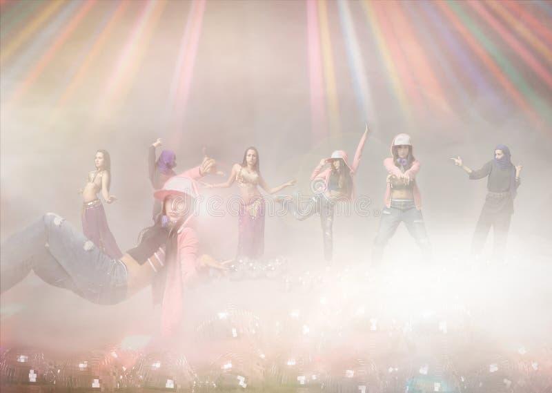 Ethnic dancer stock images