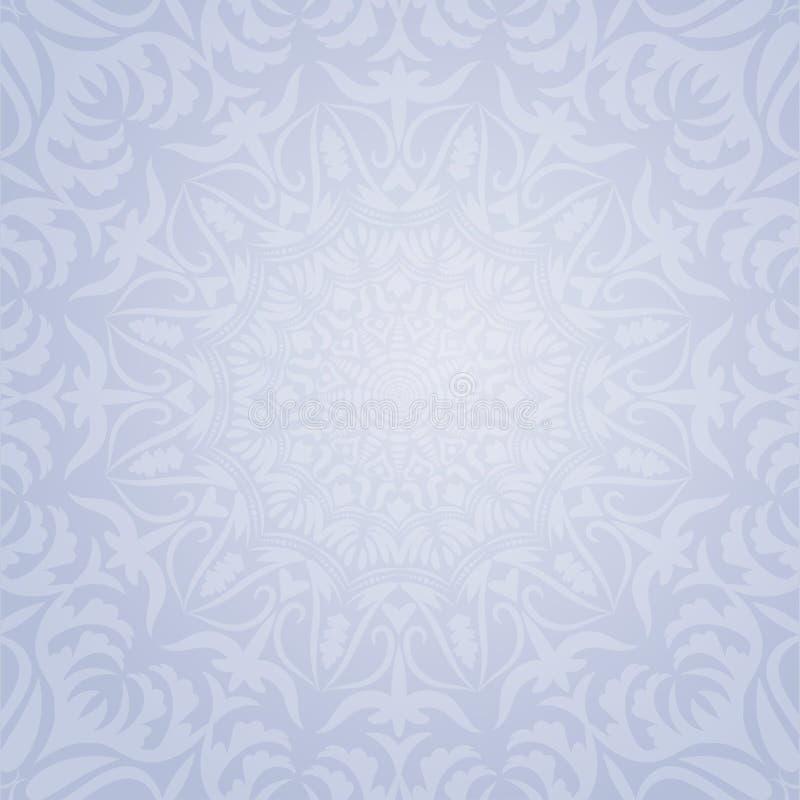Ethnic decorative round element background royalty free stock images