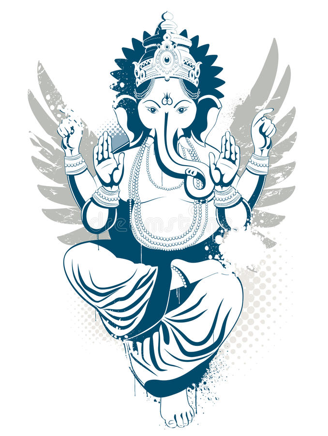 Download Ethnic image stock vector. Image of lord, east, india - 9709682
