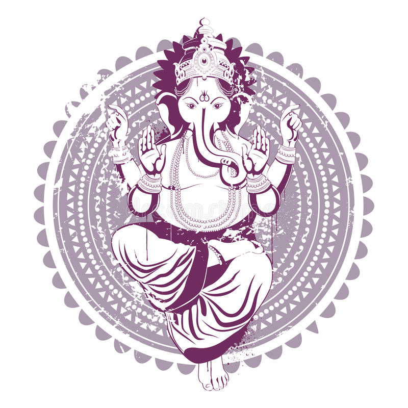 Download Ethnic image stock vector. Image of crown, buddhism, blot - 9709810