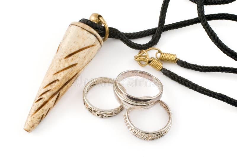 Ethnic jewellery royalty free stock photography