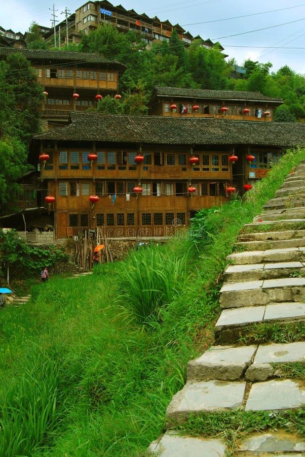 Ethnic minority village in Guangxi province,China