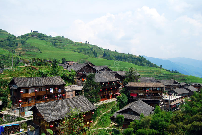 Download Ethnic Minority Village In Guangxi Province,China Stock Photo - Image: 29989914