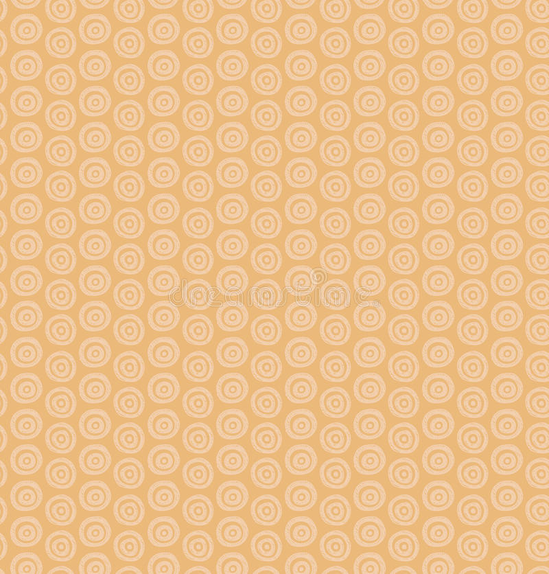 Ethnic monochrome pattern with circles. Decorative native background stock illustration