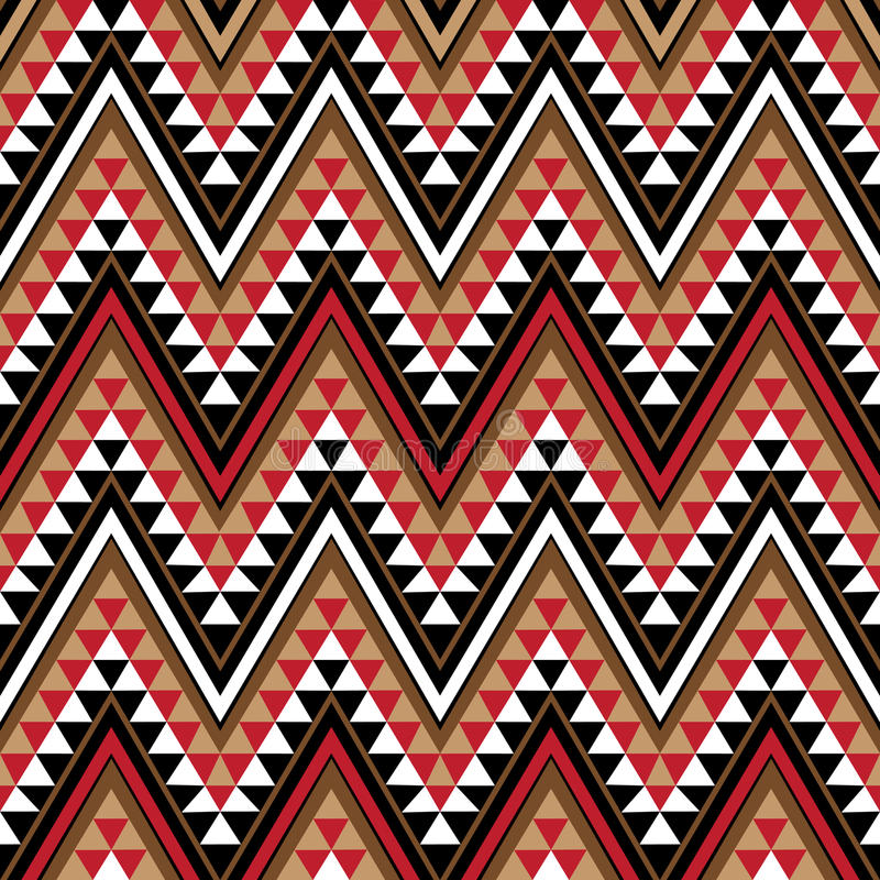 Free Ethnic Motive As A Piece Of African Pattern Stock Images - 12089914