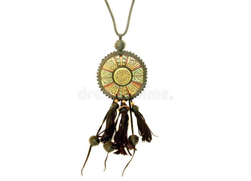 Ethnic necklace stock image