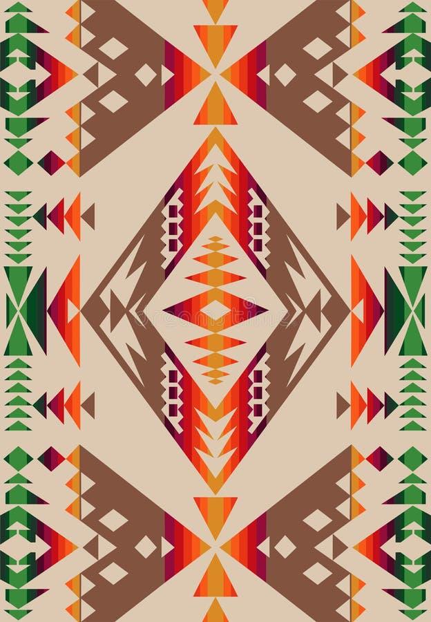 Ethnic Pattern stock image