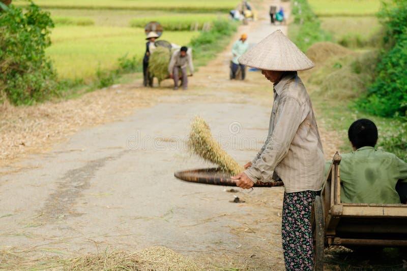 Ethnic people in Vietnam royalty free stock image
