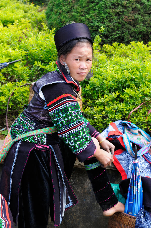 Ethnic people in Vietnam royalty free stock photos