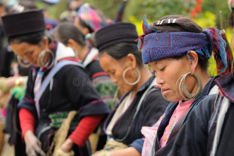 Ethnic people in Vietnam stock photos